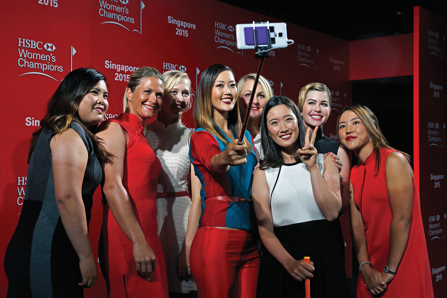 """LPGA players have been warned """"appropriate attire should be worn to pro-am parties"""" and that they should be dressing themselves to """"present a professional image."""""""