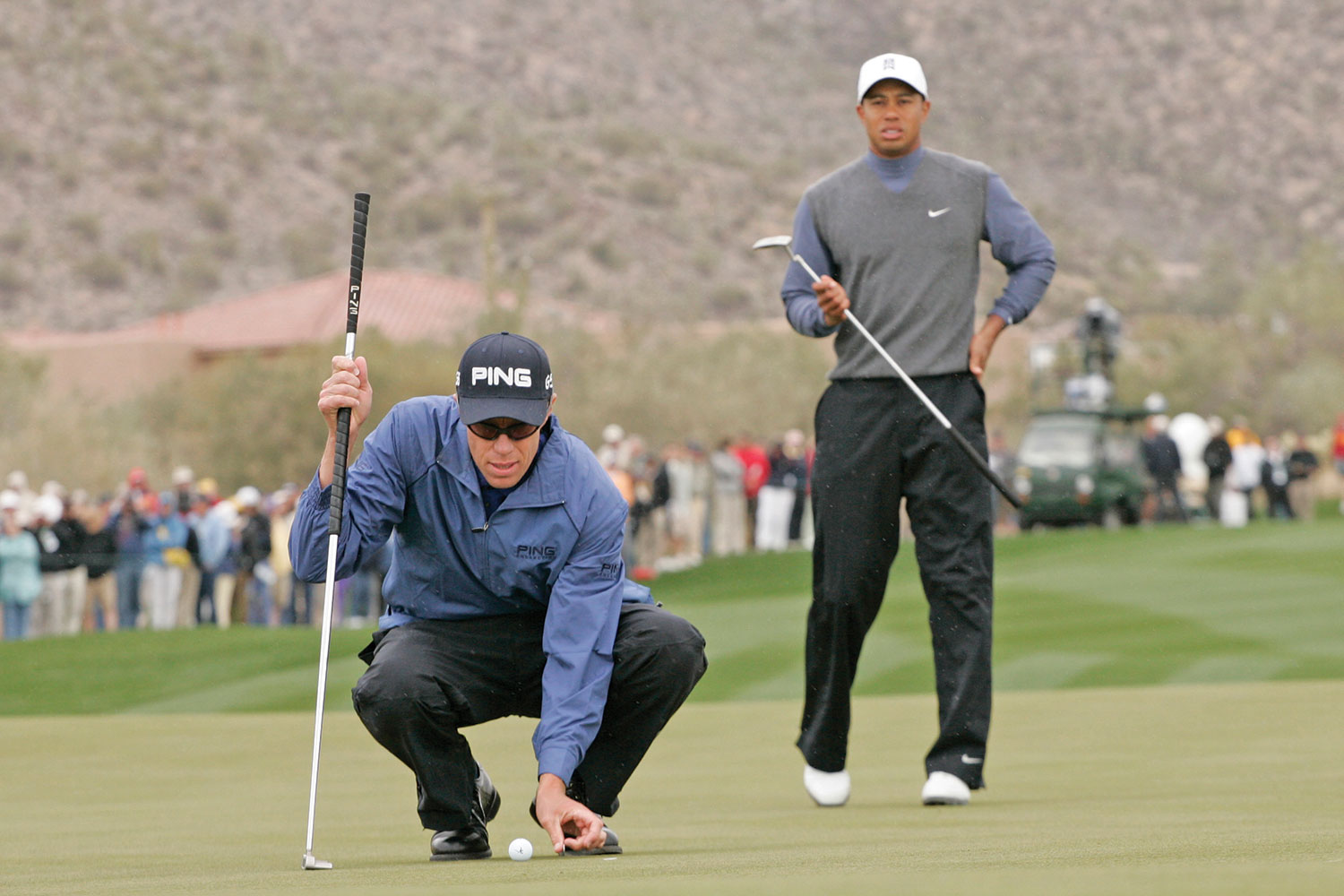 Beating Tiger Woods at the 2007 WGC-Matchplay was a triumph of grit over greatness.