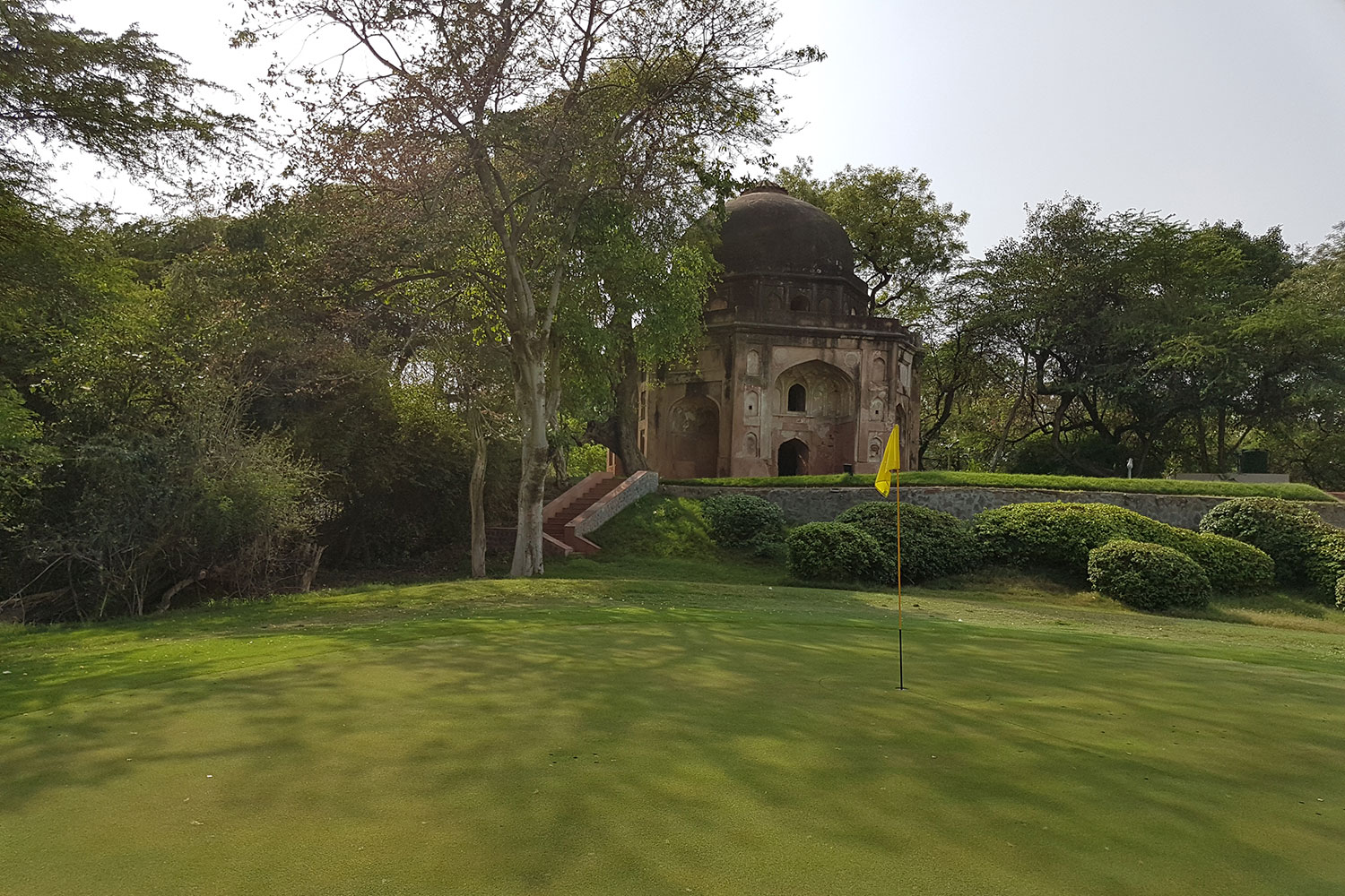 THE TOMBS at Delhi Golf Club, India