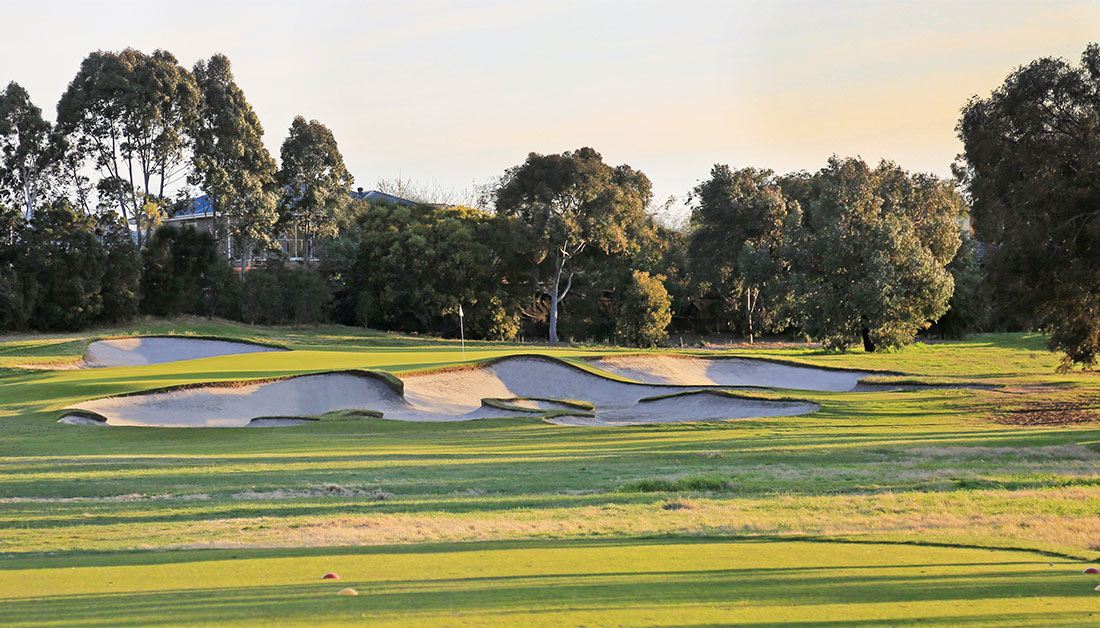 The flawless par-3 11th at Yarra Yarra makes any best-of list.